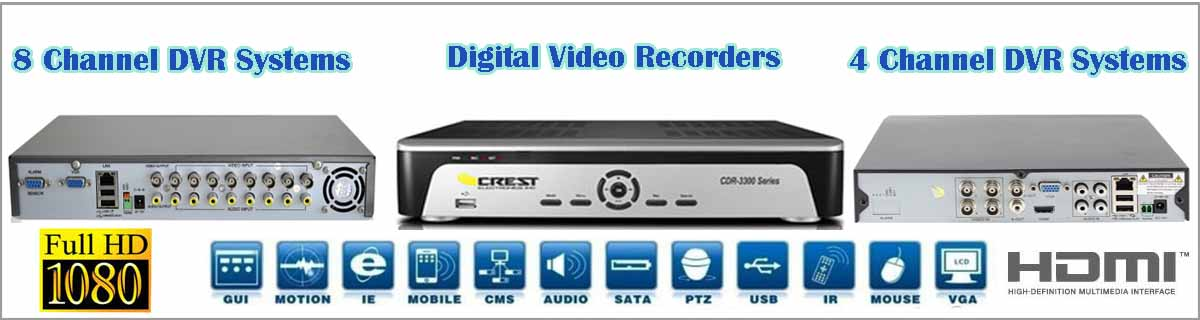 DVR Security and Surveillance Systems