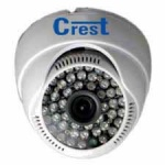 800TVL Crest Digital IR Dome CCTV Camera